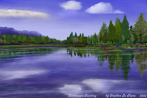 Landscape Painting by StephenL