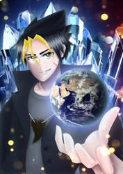 Mineral Moe manga cover by r-kidz