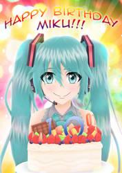 Happy 10th Birthday Hatsune Miku! by r-kidz