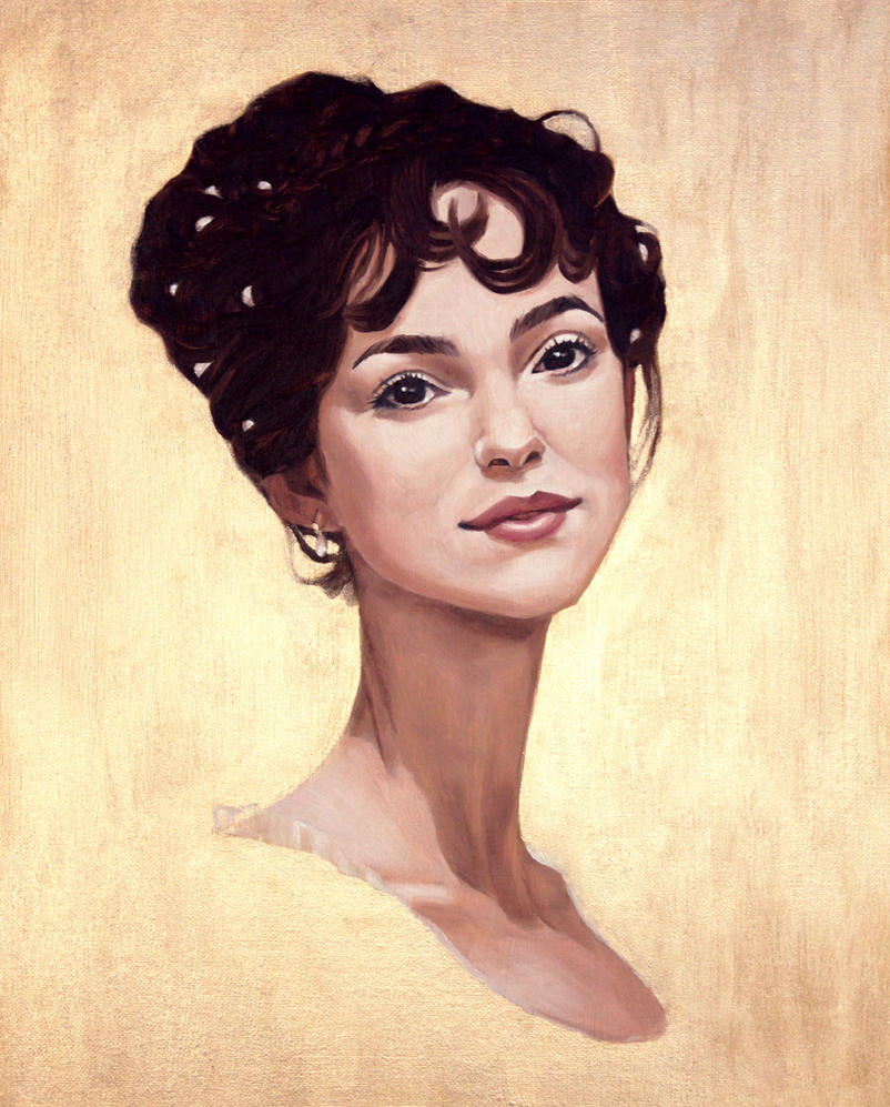 Warped Elizabeth Bennet by nonnahs144
