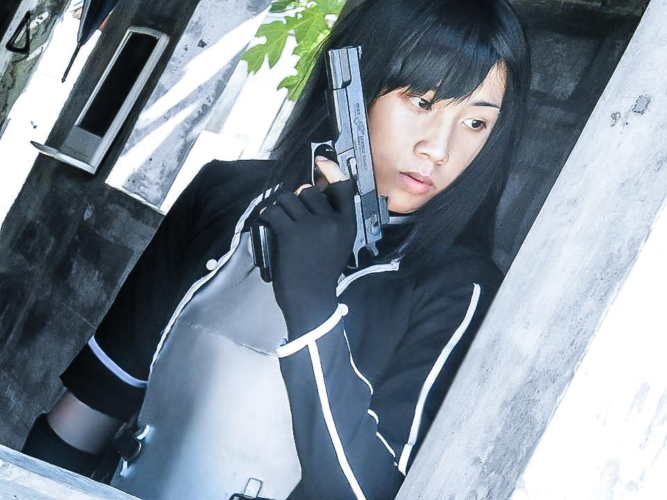 Gun Gale Online Kirito by jayceegiray