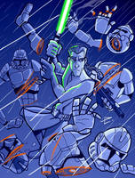 Star Wars - Retaliation by daviseveriano
