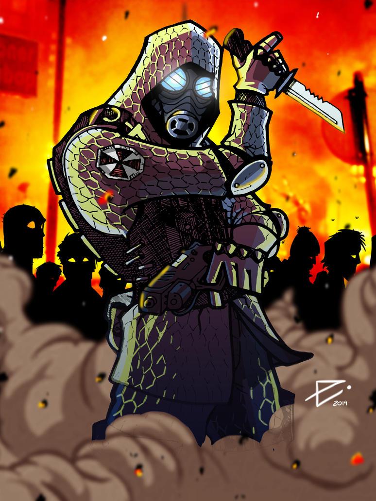 Chez moi tu et le bien venue - Page 2 Vector___resident_evil_by_severianhero-d77ovbw
