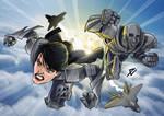 Faora and Non (Man of Steel)