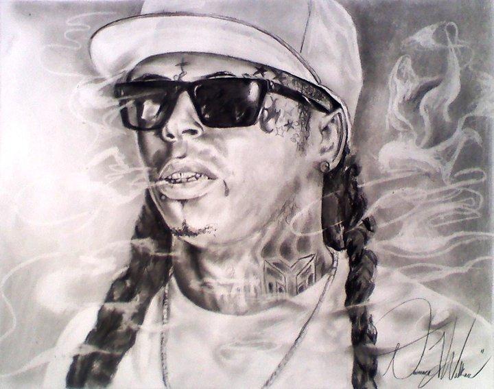 Pencil Drawings Of Lil Wayne Lil Wayne by DwalkerAr...