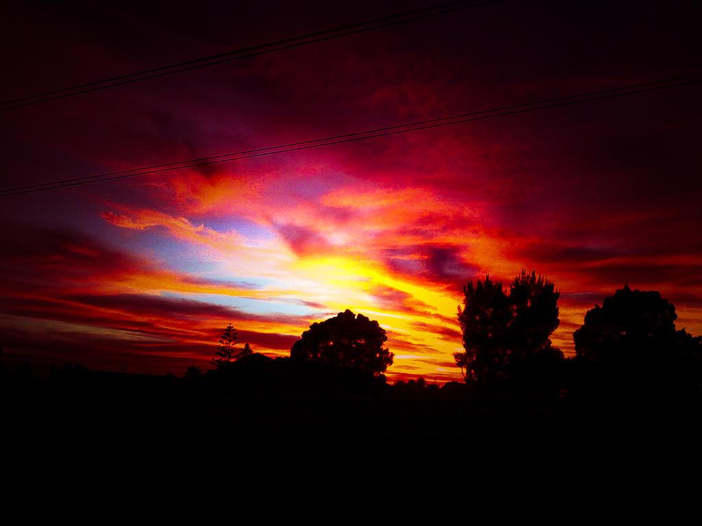 wallpaper sunset mountain arizona - photo #35