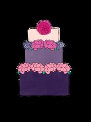 Wedding Cake by cindyb399