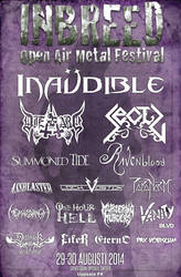 Inbreed Open Air Metal Festival 2014