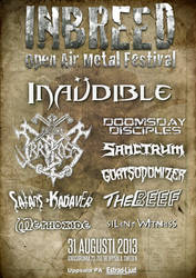 Inbreed Open Air Metal Festival 2013