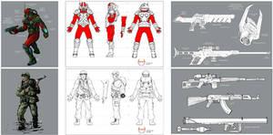 Marines Concept Art - 7KC