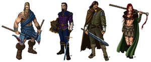 The Last Dominion - Characters