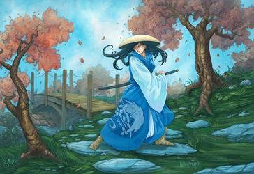 L5R: Kakita Ibara by LeeSmith