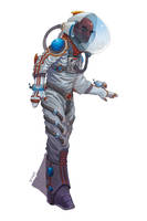 Numenera - Environment Suit by LeeSmith