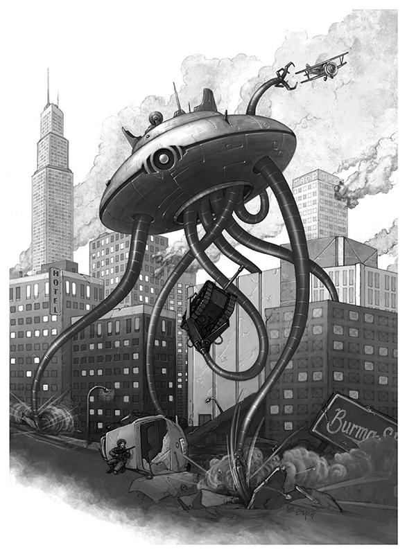 Ravaged Earth - Ravaged World by LeeSmith