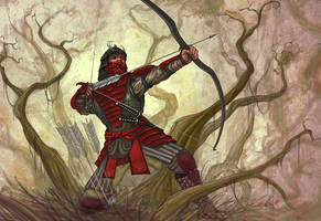 L5R: Concealed Archers by LeeSmith