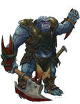 Dungeons and Dragons: IceShield Orc
