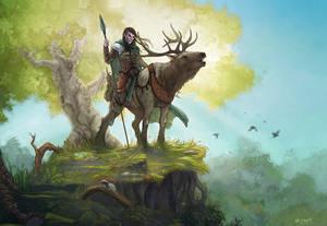 Dungeons and Dragons - Half Elf Ranger