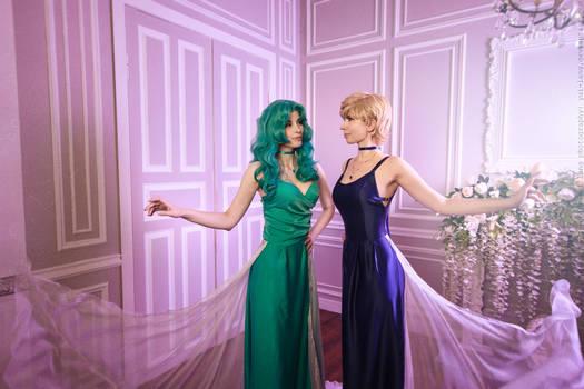 Princess Neptune and Princess Uranus