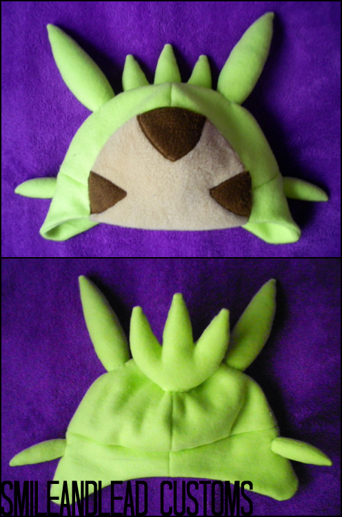Chespin Hat by SmileAndLead