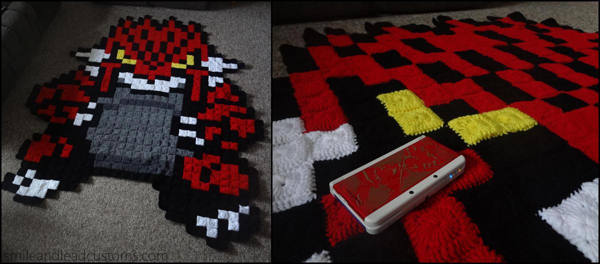 Groudon Sprite Blanket