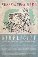 Fallout Custom Poster: Super-Duper Mart by MattTheKid