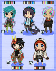 Chibis 1-5 [CLOSED]