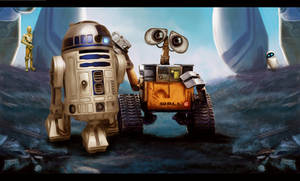 walle and r2d2