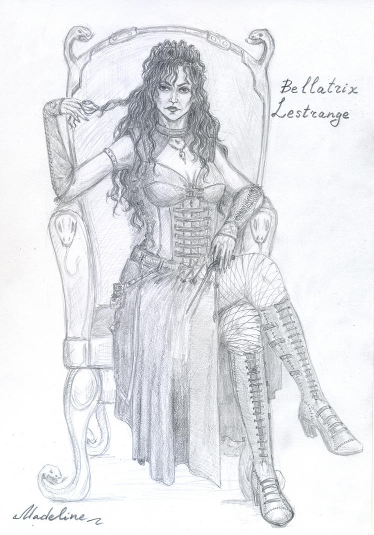 Bellatrix Lestrange Steampunk Style By MadelineSlytherin