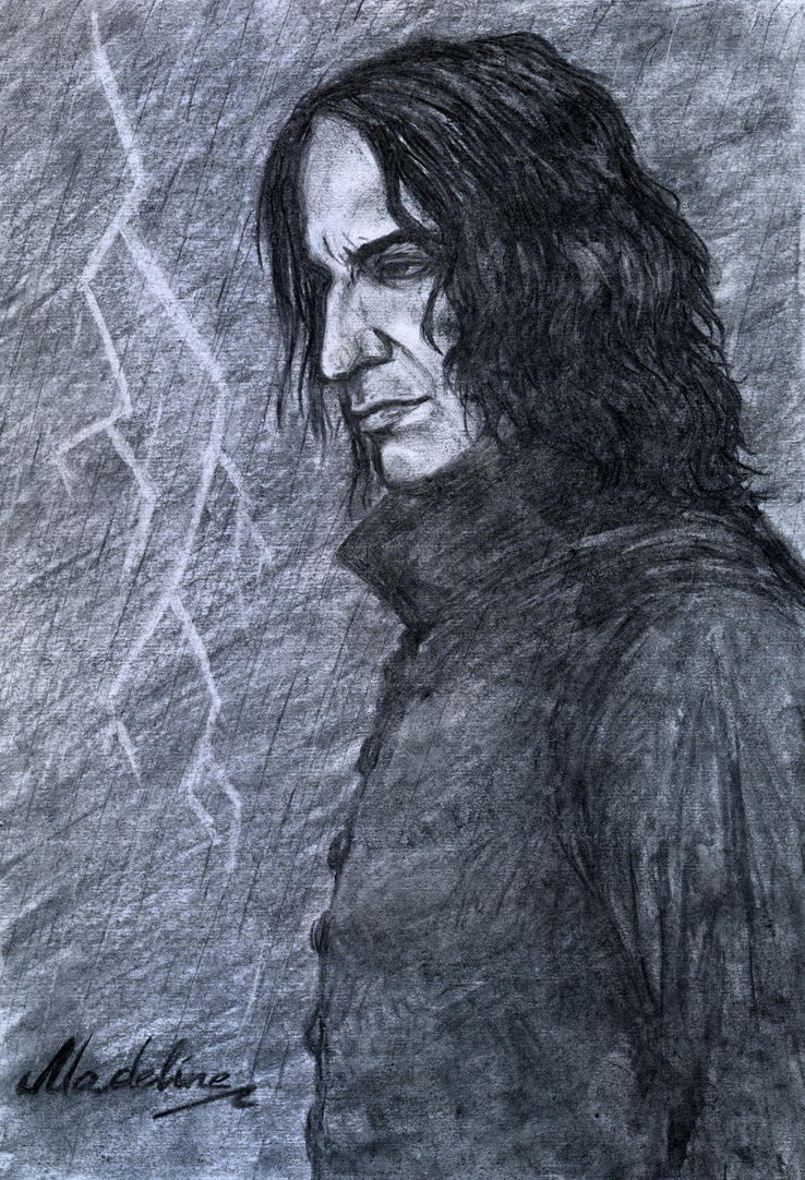 Severus Snape. Storm. by MadelineSlytherin