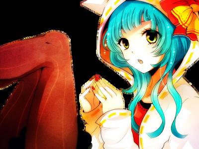 Render Miku Hatsune by Galletitasexy