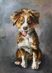 Dog Portrait by SlumberingPhoenix