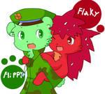 Flippy X Flaky again :3