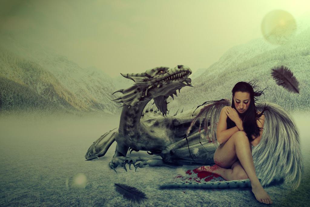 Angel by tiffanydark