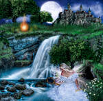 Bonfires of Saint John and Legend of the haunted
