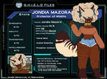 Marvel OC: Jondia Profile by XxVampweebyxX
