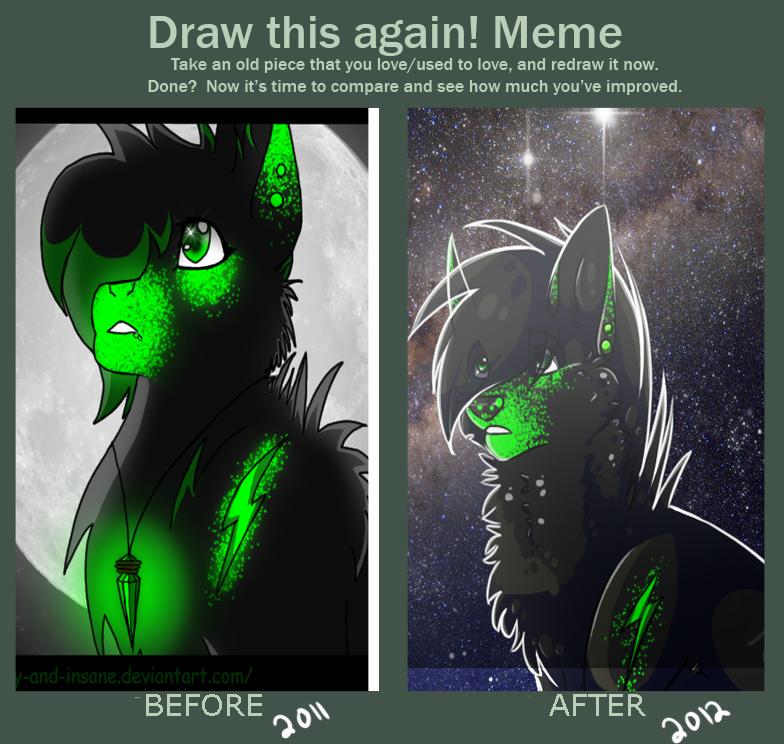 Draw again by BeautySnake