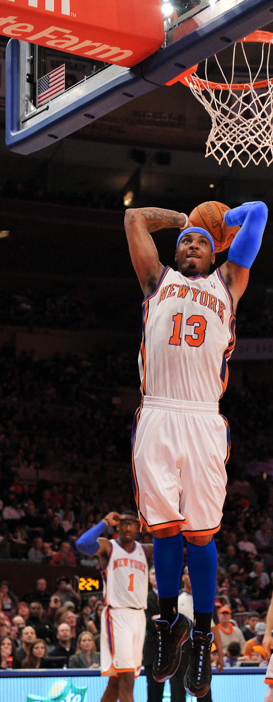 Carmelo Anthony Knicks by rhurst