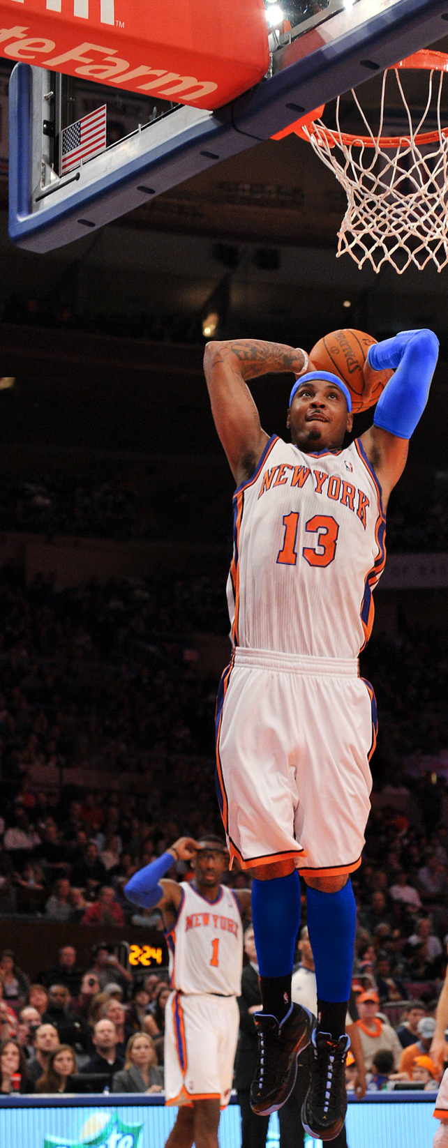 Carmelo Anthony Knicks by rhurst