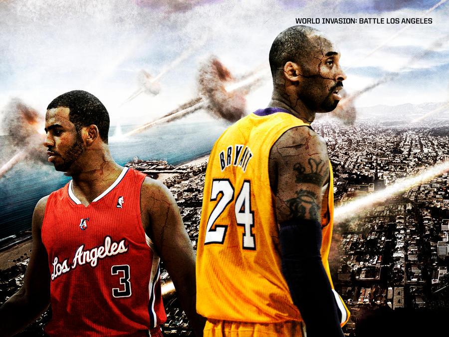 Clippers vs. Lakers - Battle LA by rhurst