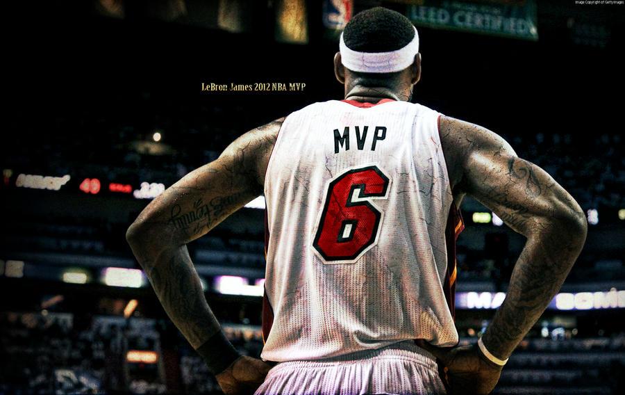 LeBron James 2012 NBA MVP Wallpaper by rhurst on DeviantArt