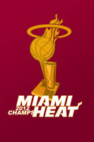 Miami Heat iPhone Wallpaper by rhurst