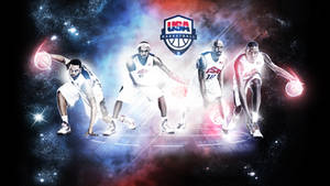 Team USA 2012 Basketball Wallpaper