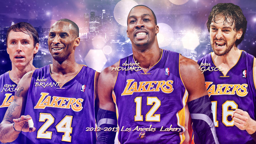 2012 2013 Los Angeles Lakers Wallpaper By Rhurst