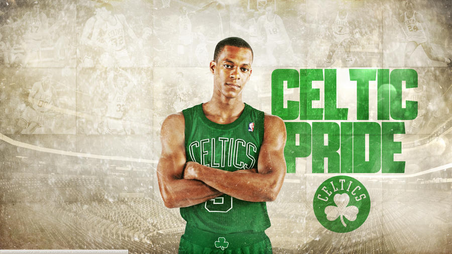 Rajon Rondo 'Celtic Pride' Wallpaper by rhurst