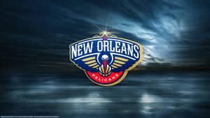 New Orleans Pelicans Logo Wallpaper