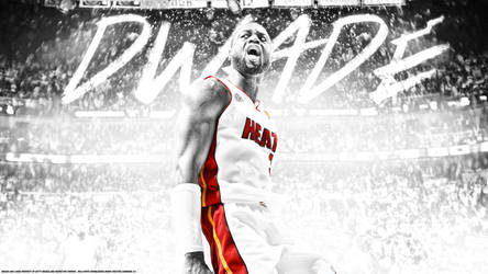 Dwyane Wade 'White Hot' Wallpaper by rhurst