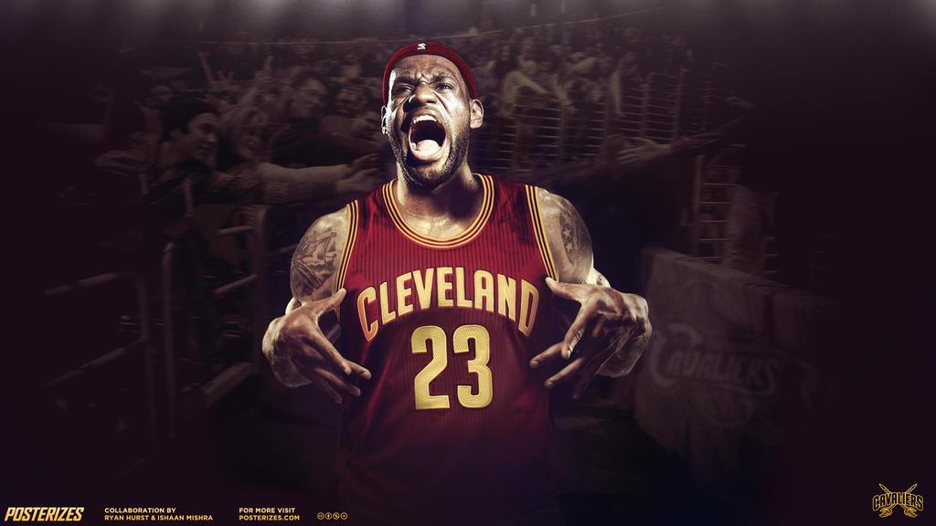 LeBron James 'Return Of The King' by rhurst