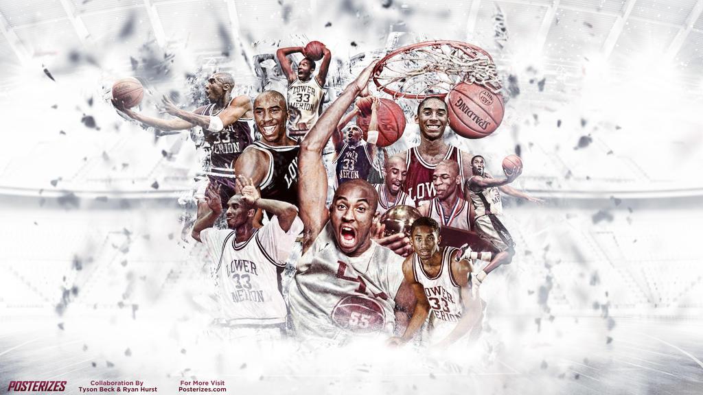 Kobe Bryant High School Wallpaper by rhurst