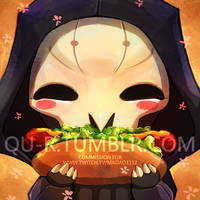 OW Reaper avatar commission