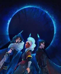 TTS-The Dark Kingdom trio by Qu-r